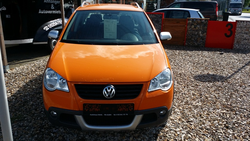 VW Polo Cross Frontansicht